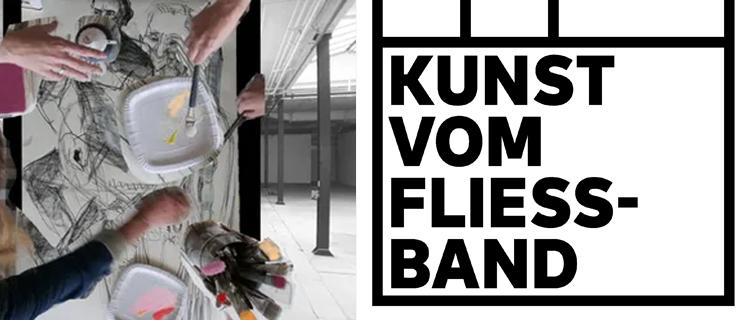 Kunst vom Fliessband